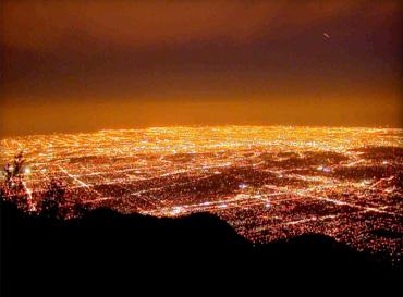 Los Angeles Basin before LED Retrofit